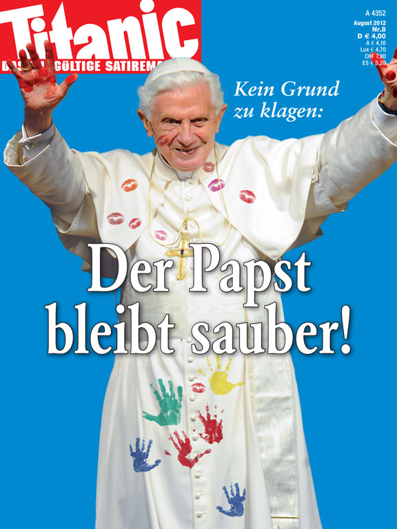 Titanic Cover Papst
