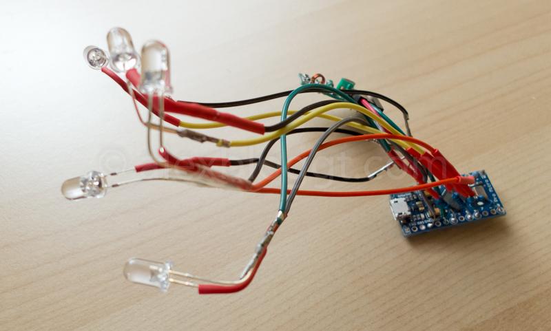 Arduino Pro Micro verlötetet 2